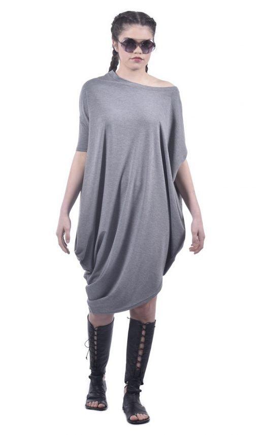 Light Grey Asymmetric Tunic